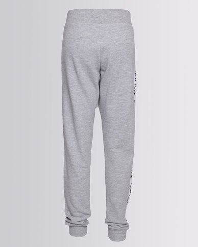 4162249ca93 New Look New York Side Tape Joggers Grey