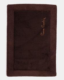 Pierre Cardin Memory Foam Mat Chocolate Brown