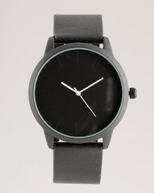 New Look Hands Watch Black