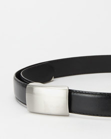 New Look PU Casual Belt Black