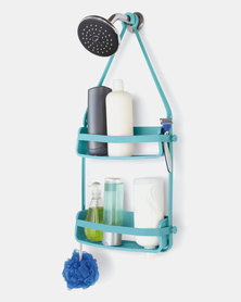 UMBRA Flex Shower Caddy Surf Blue