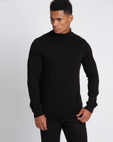 New Look Roll Neck Jumper Black