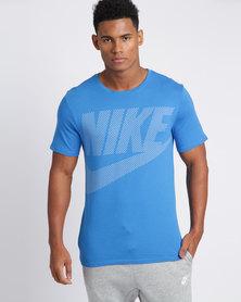Nike Mens Nike Sportswear Tee GX Pack Blue/White