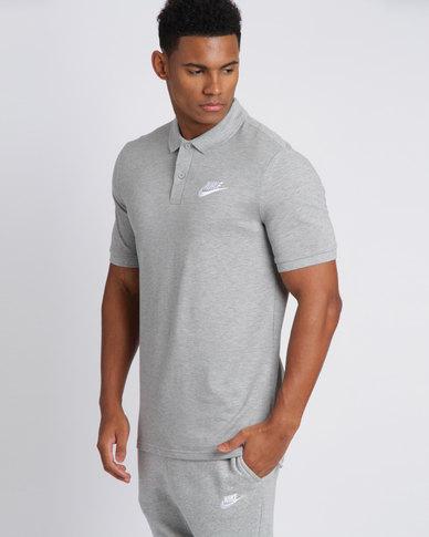b899a4e43 Nike Mens Nike Sportswear Polo PQ Matchup Tee Dark Grey/White | Zando
