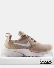 Nike Presto Fly Sneaker Sand/Desert Sand-White