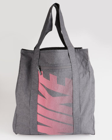 Nike Performance Womens Nike Gym Tote Grey  b648e4aa0b