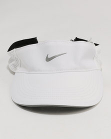 Nike Performance U NK Areobill Visor TW Elite ADJ White/Black