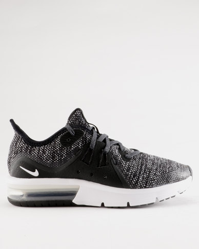 1f666da553 Nike Air Max Sequent 3 GS Sneaker Black | Zando