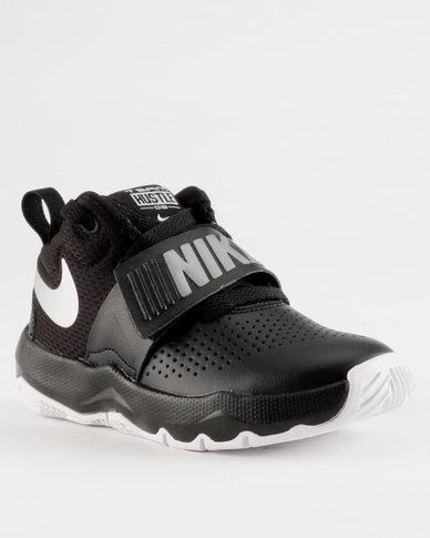 the latest 2ca1e 7c319 Nike Team Hustle D 8 GS Sneaker Black   Zando