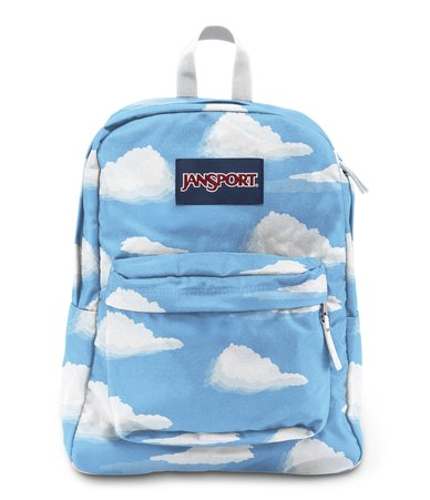 online for sale hot product cozy fresh JanSport Superbreak Backpack Partly Cloudy