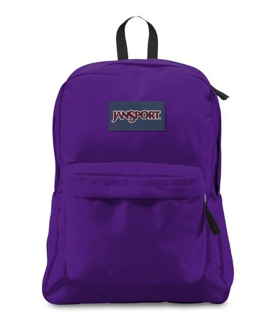 JanSport Superbreak Backpack Signature Purple