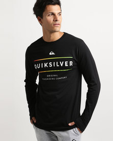 Quiksilver Reverso Surfo Long Sleeve T-Shirt Black