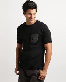 Quiksilver Water Wings T-Shirt Black