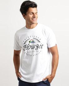 Quiksilver Belong Destination T-Shirt White