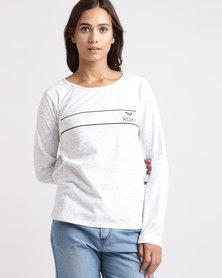 Roxy Rocking Pastel Long Sleeve T-Shirt
