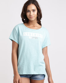 Roxy Coco Nutter T-Shirt Blue