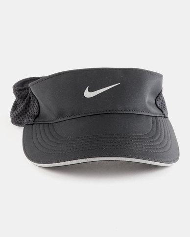 Nike Performance Unisex Nike Aerobill Visor Elite Adjustable Black ... 5a22b224053