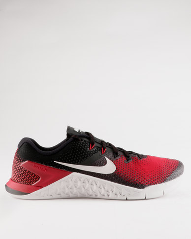 Nike PerformanceMETCON 4 - Sports shoes - black/hyper crimson EVwjtaDPx