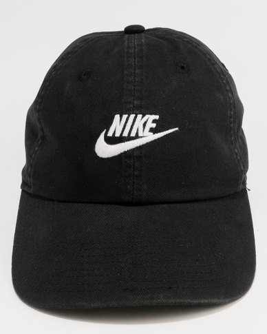 Nike U NSW H86 Futura Washed Cap BlackWhite