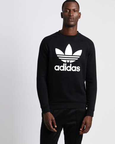 adidas Mens Original Crew Sweater Black