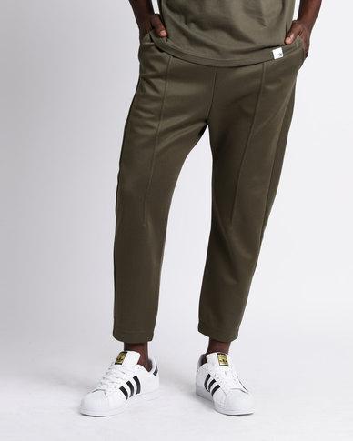 adidas XBYO Track Pants Olive Cargo | Zando