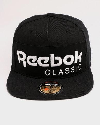 Reebok Classic Foundation Cap Black  d4ed6d15568