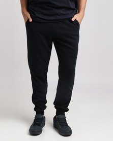 Jeep Brushed Fleece Jogger Navy