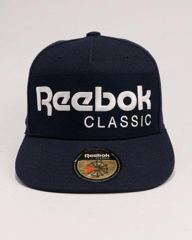 580261ad014 Reebok Classic Foundation Cap Navy