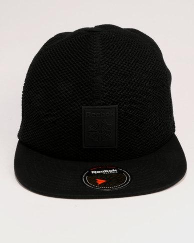 d44dab6e06a Reebok Classic Mesh Cap Black