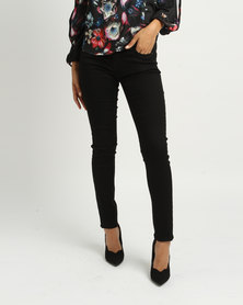 Sissy Boy Axel Mid-rise Skinny Jeans Black