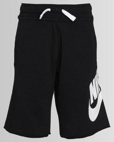 Nike Boys NSW Short FT Alumni Black