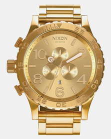 Nixon Watch Gold