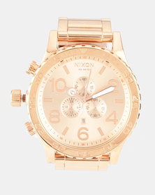 Nixon Watch Rose Gold