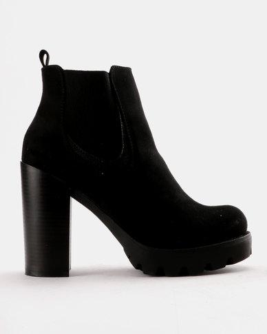 Utopia Utopia Heeled Chelsea Boot Black perfect cheap online free shipping for sale 4hUaJuq