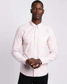 Levi's Classic 1 Pocket Shirt Pink Nectar
