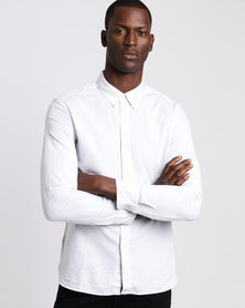 Levi's Long Sleeve Pacific No Pocket Shirt Optic White