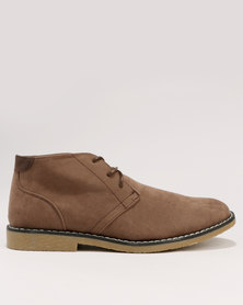 Soviet Swagger Derby Boot Brown