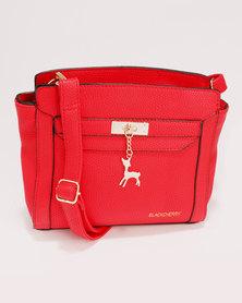 Blackcherry Bag Smart Crossbody Handbag Red