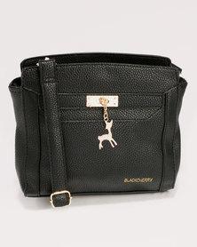 Blackcherry Bag Smart Crossbody Handbag Black