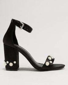 outlet how much ZOOM ZOOM Josie Strippy Heeled Sandal Bronze/Metallic shop for sale online uhF5Brh