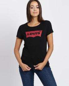 Levi's® Slim Crew Neck Tee Mineral Black