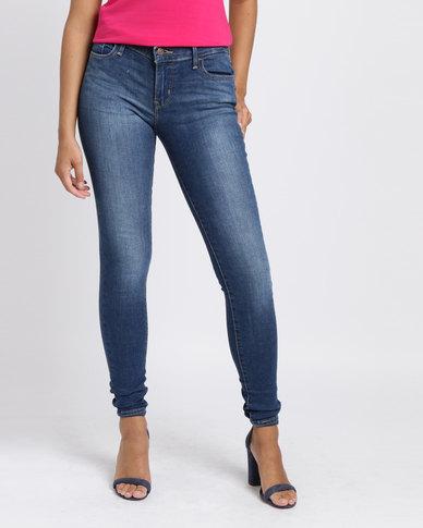 Levi's 710 Super Skinny Fit Jeans Frolic Blue