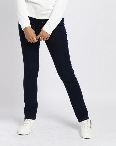 Levi's 712 Slim Fit Jeans Cast Shadows