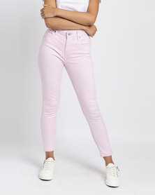Levi's® 721 High Rise Skinny Fit Jeans Soft Light Lilac