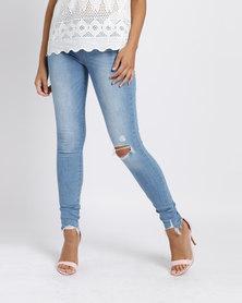 Levi's® 710 Super Skinny Fit Jeans Indigo Flash