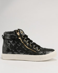 North Star High Top Sneaker Black
