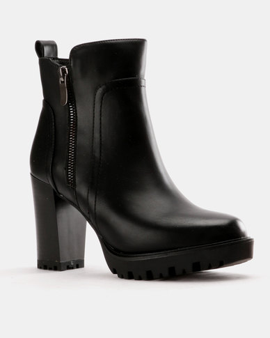 Utopia Utopia Heeled Chelsea Boot Black sale top quality outlet authentic MykmG