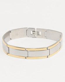 Xcalibur Two Tone Bracelet Gold