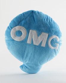 Pamper Hamper OMG Pillow Blue