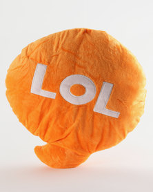 Pamper Hamper LOL Pillow Orange